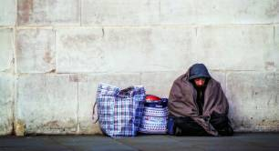 London homelessness