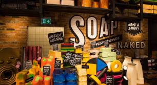Lush_Oxford Street shop_soap_cosmetics