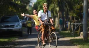 Villagers in Nyambu Bali