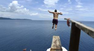 Taking the plunge with Liam