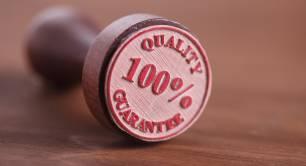 Quality guarantee pic