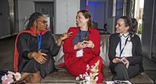 Women entrepreneurs at Reach for Change
