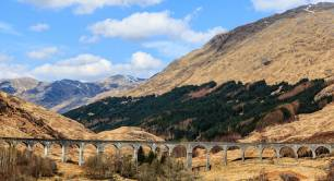 Scotland_landscape_Highlands_blue sky_scenery