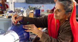 Solar engineering trainer, Barefoot College, India