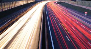 Speeding cars_motorway