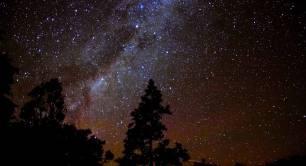 Photo of night stars