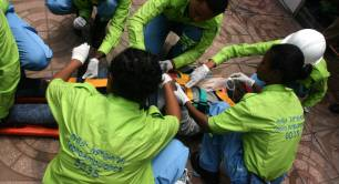 Tebita Ambulance trainees