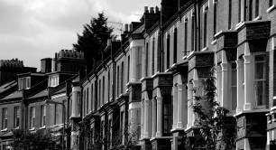 Terraced housing in London
