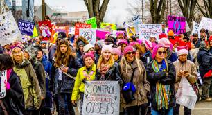 Women's March Washington women's rights US