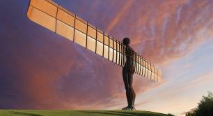 Levelling up Angel of the North