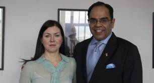 Mairi Mackay, Amit Bhatia, British Council, DICE programme, Global Steering Group