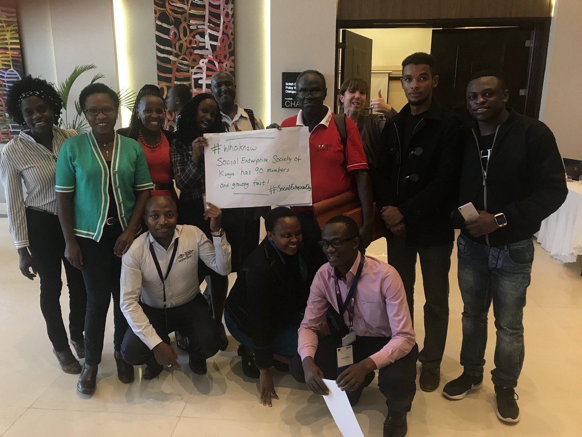 Who knew Social Enterprise Day Kenya